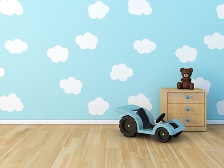 babyroom: kids room Stock Photo