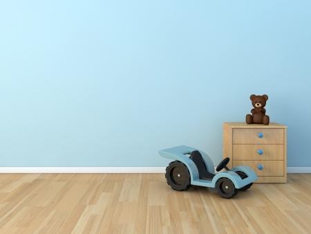 chambre à coucher: chambre des enfants