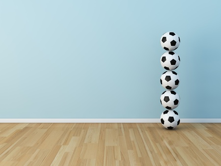 kids room soccerball Stock Photo - 13536060