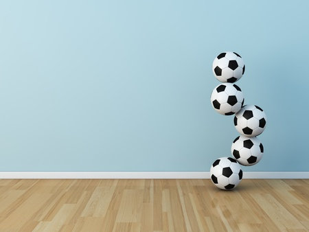 kids room soccerball Stock Photo - 13536056