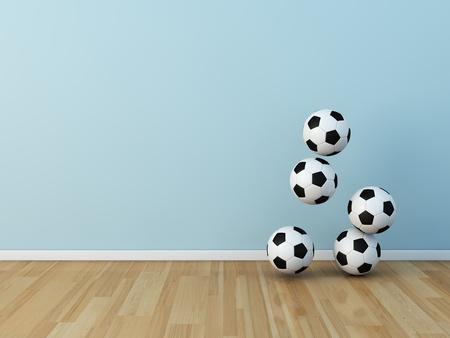 kids room soccerball photo