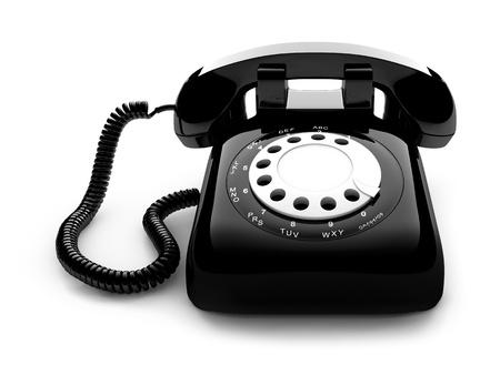 Classic retro dial style house telephone