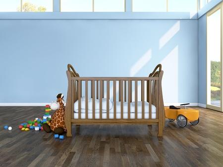 赤ちゃんの部屋 写真素材 - 13536118
