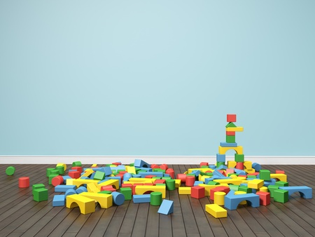 Building blocks Stock Photo - 13536323