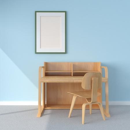 Bureau à domicile intérieur