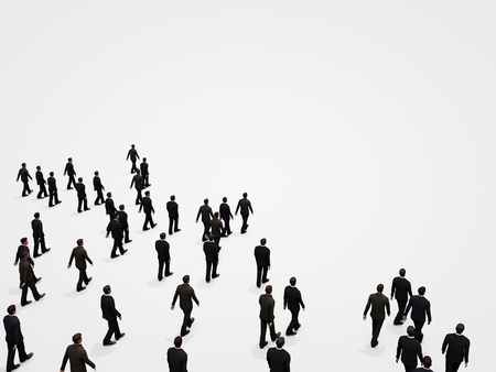 Large crowd of people Stock Photo - 16137392