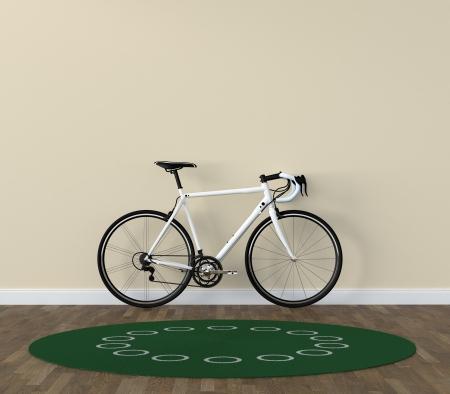 bicycle room Stock Photo - 16137394
