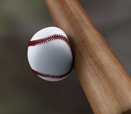 baseball swing: baseball