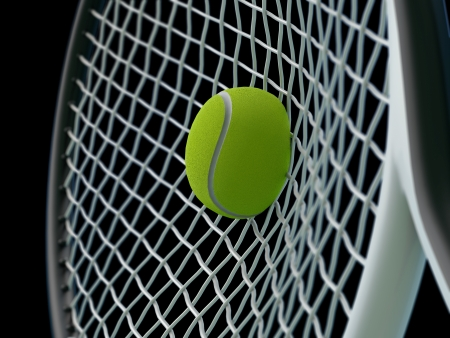 raquet: tennis smash