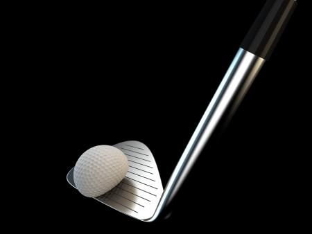 impact: golf swing iron