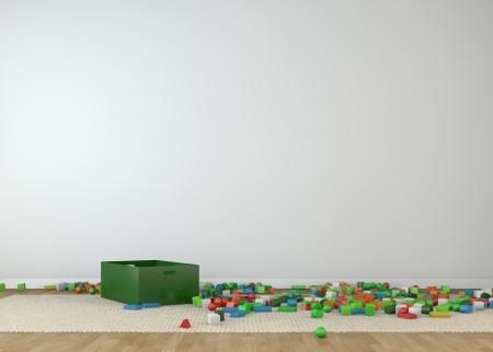 kidsroom 写真素材