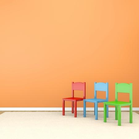 playroom: cuarto de jugar Foto de archivo