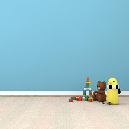 playroom: habitaci�n de los ni�os