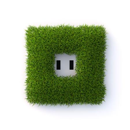 Grass socket Stock Photo - 19623229