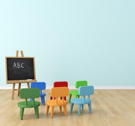 schoolroom: classroom