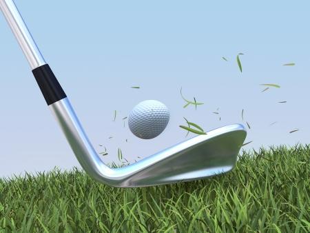 ゴルフ インパクト 写真素材 - 24556283
