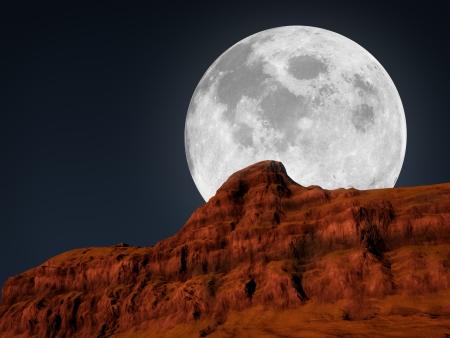 full moon: moon