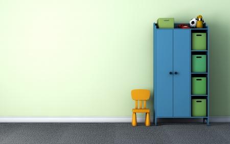 子供部屋 写真素材