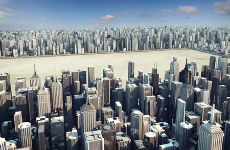 vacant: Urban development Stock Photo