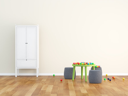 kids room Standard-Bild