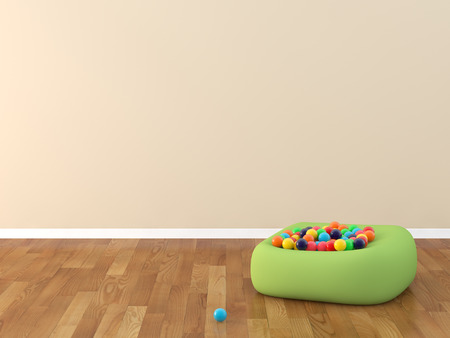 kidsroom: kids room Stock Photo