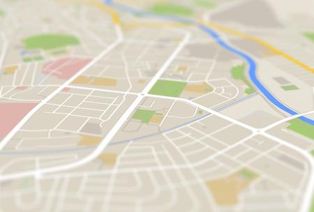 mapa da cidade Imagens