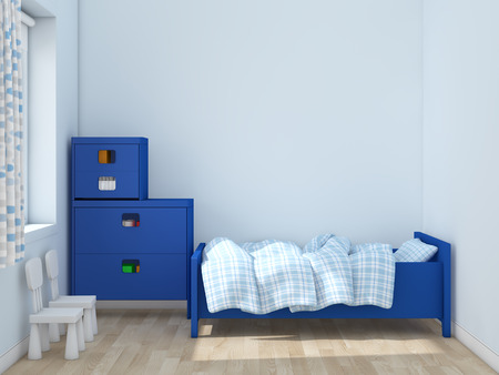 kidsroom: kids room Interior 3d rendering image