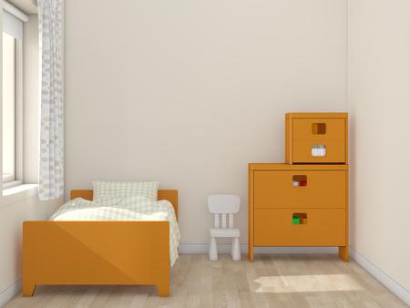 kidsroom: kids room Interior 3d rendering image