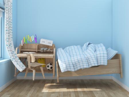 zero gravity: floating kids room
