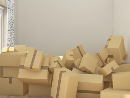 レンダリング画像を移動する子供部屋 写真素材 - 55211608