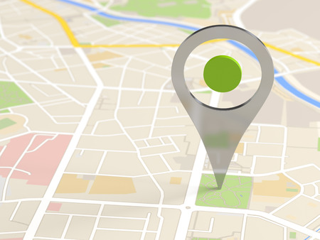 icono de mapa de localización