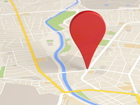 street symbols: map locator icon