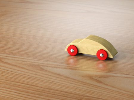 wooden toy: Cool wooden toy car