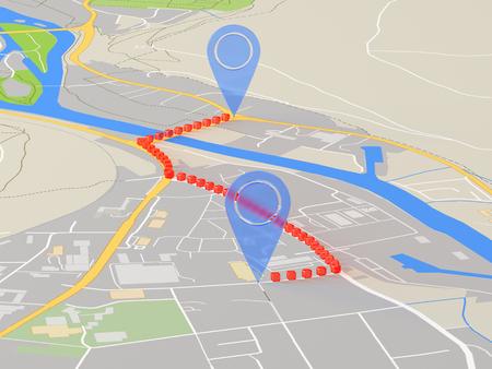 GPS.navigator pin icon