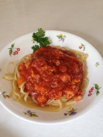 teng: Spaghetti  Stock Photo