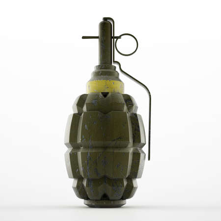 handgrenade: World war two pinapple style hand grenade