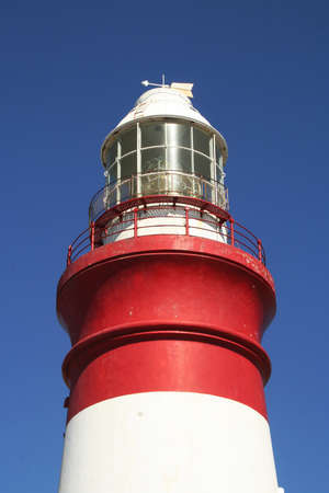 light house: Light house tower with blue sky background