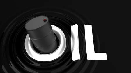 fossil fuel: oil fossil fuel and energy industry Stock Photo