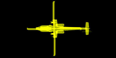 apache: blueprint view of Apache helicopter