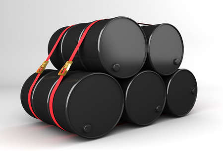 dispatch: barrels of natural resources ready for dispatch