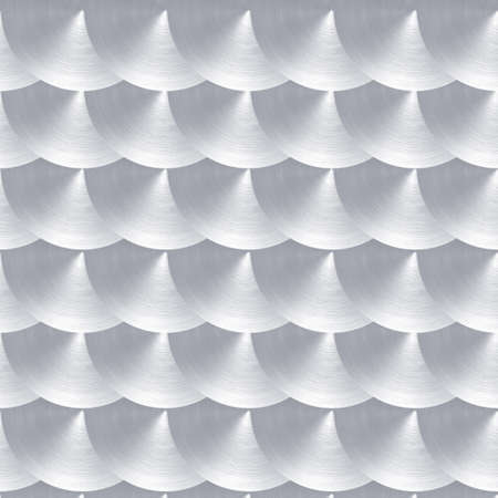 sliver: Steel or aluminum with circular polished finish pattern Stock Photo