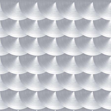 brushed aluminium: Steel or aluminum with circular polished finish pattern Stock Photo