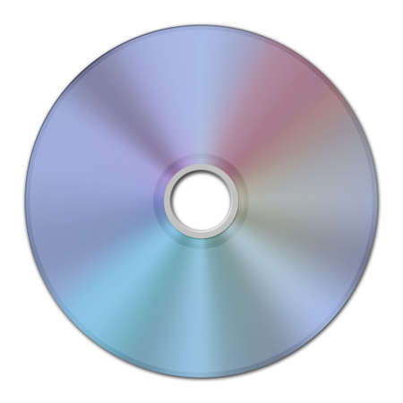 pirating: digital image of a CD or DVD data track