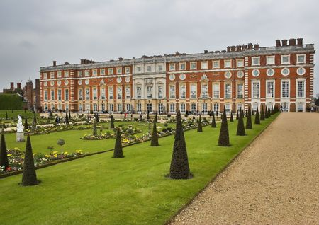 Hampton Court Palace. The picture was taken in Ease Molesey, south west of London.