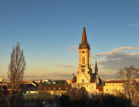 of Jesus church in Vienna, Austria.
