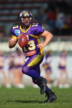 Austrian Football League - Vienna Vikings playing against the Carinthian Black Lions in Vienna - April 2008