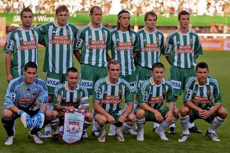 VIENNA,  AUSTRIA - JULY 19 Friendship game between SK Rapid and Liverpool FC: SK Rapid wins 1:0 on July 19, 2009 in Vienna, Austria.