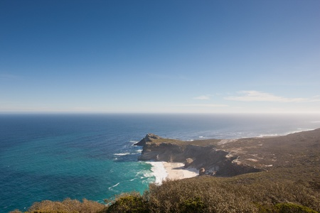 cape of good hope: Coastline at the Cape of Good Hope in South Africa.
