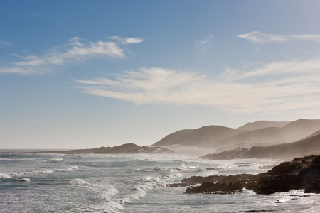Coastline at the Cape of Good Hope in South Africa. Stock Photo - 10162418