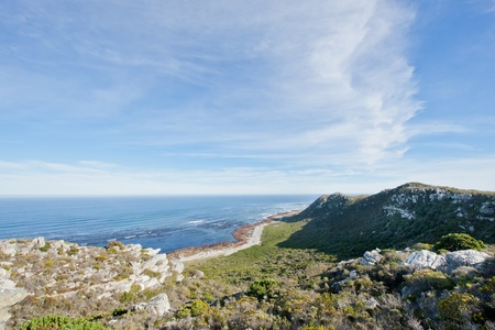 Coastline at the Cape of Good Hope in South Africa. Stock Photo - 10162438